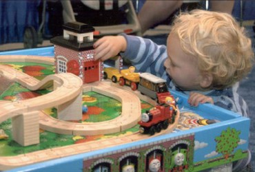 Family Fun at the National Train Show